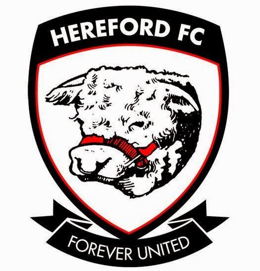 Escudo del Hereford FC (WIKIPEDIA).