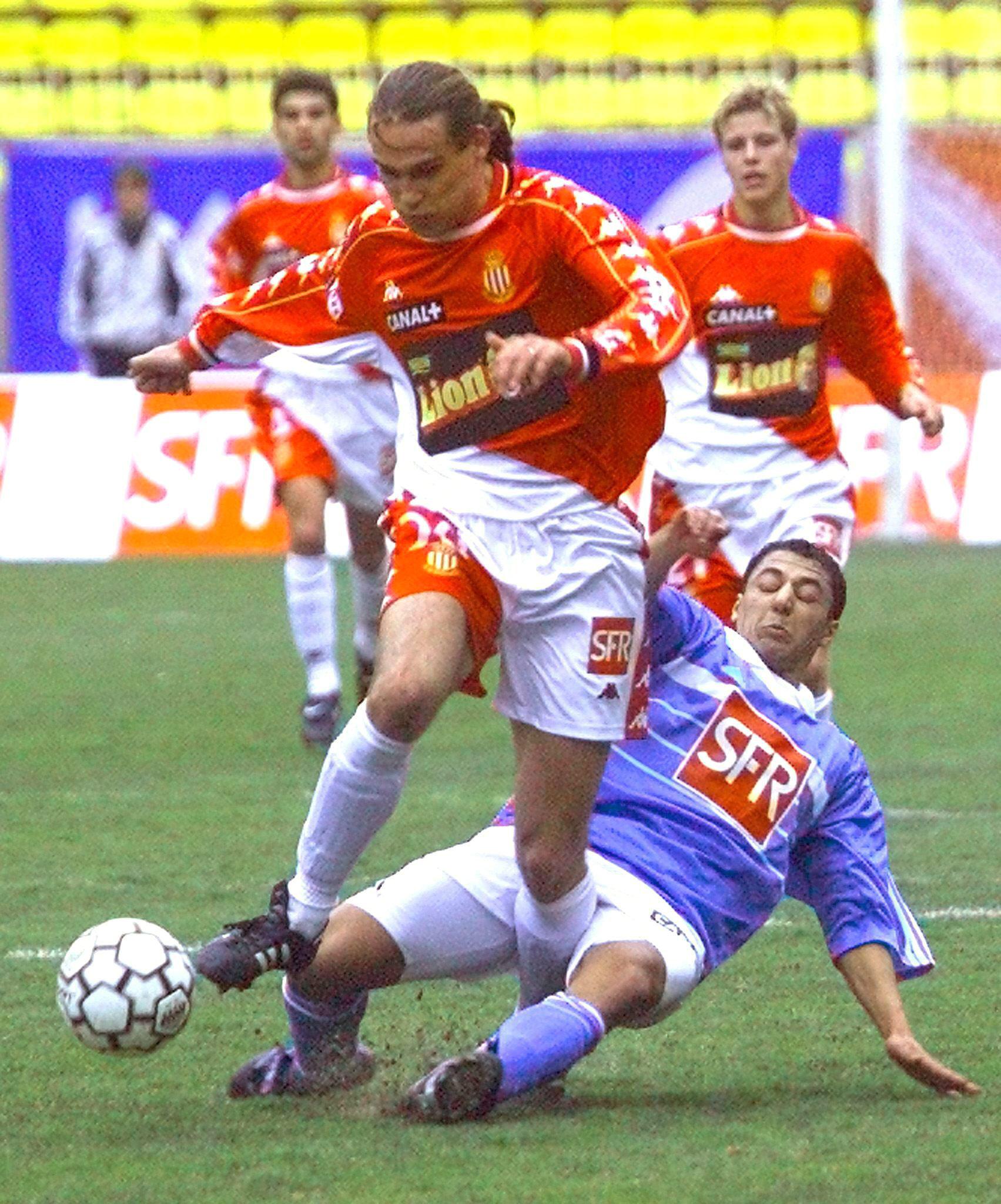 Prso, en un partido de la Liga francesa en enero de 2000 (Archivo 20minutos).