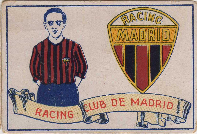 Cromo del club de los años 20 (Chocolates Amatller).