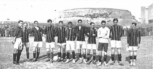 El Racing, en 1915 (WIKIPEDIA).