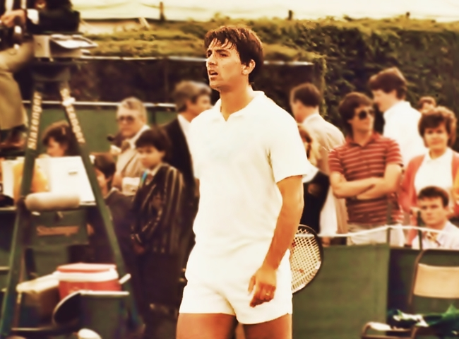 Zivojinovic, en Wimbledon (WIKIPEDIA).
