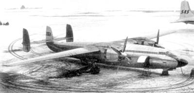 El avión siniestrado, antes del accidente (WIKIPEDIA).