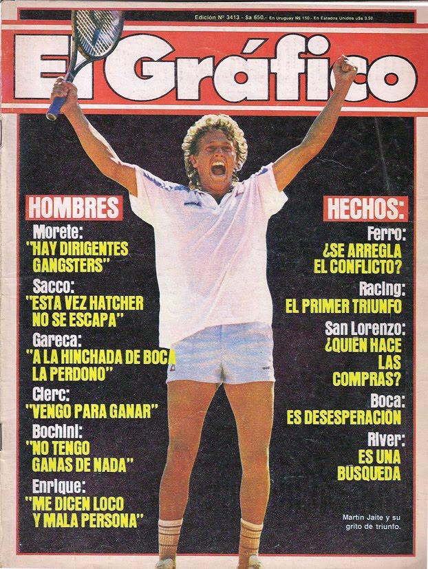 Portada de 'El Gráfico' dedicada a Jaite (ElGráfico).