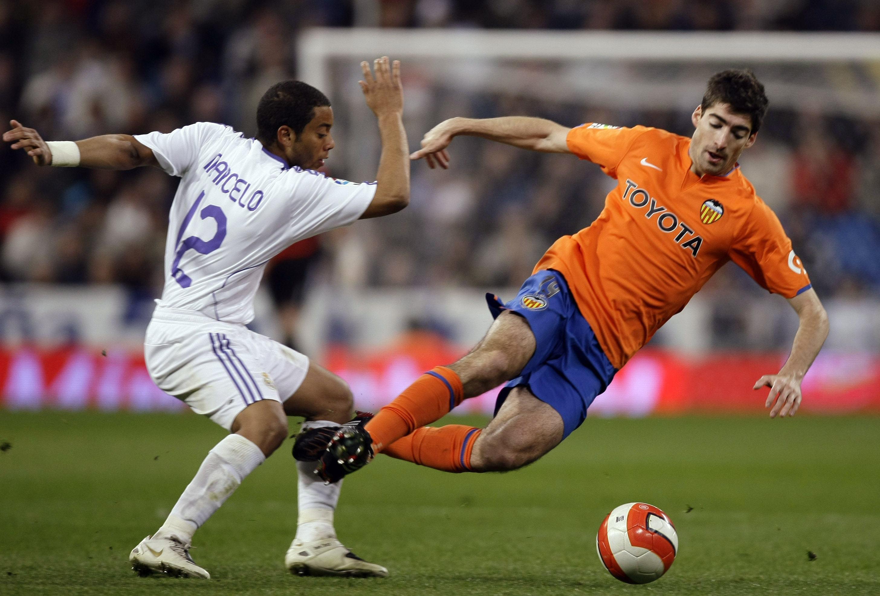 Arizmendi, en el Bernabéu con el Valencia en 2008 (Archivo 20minutos).