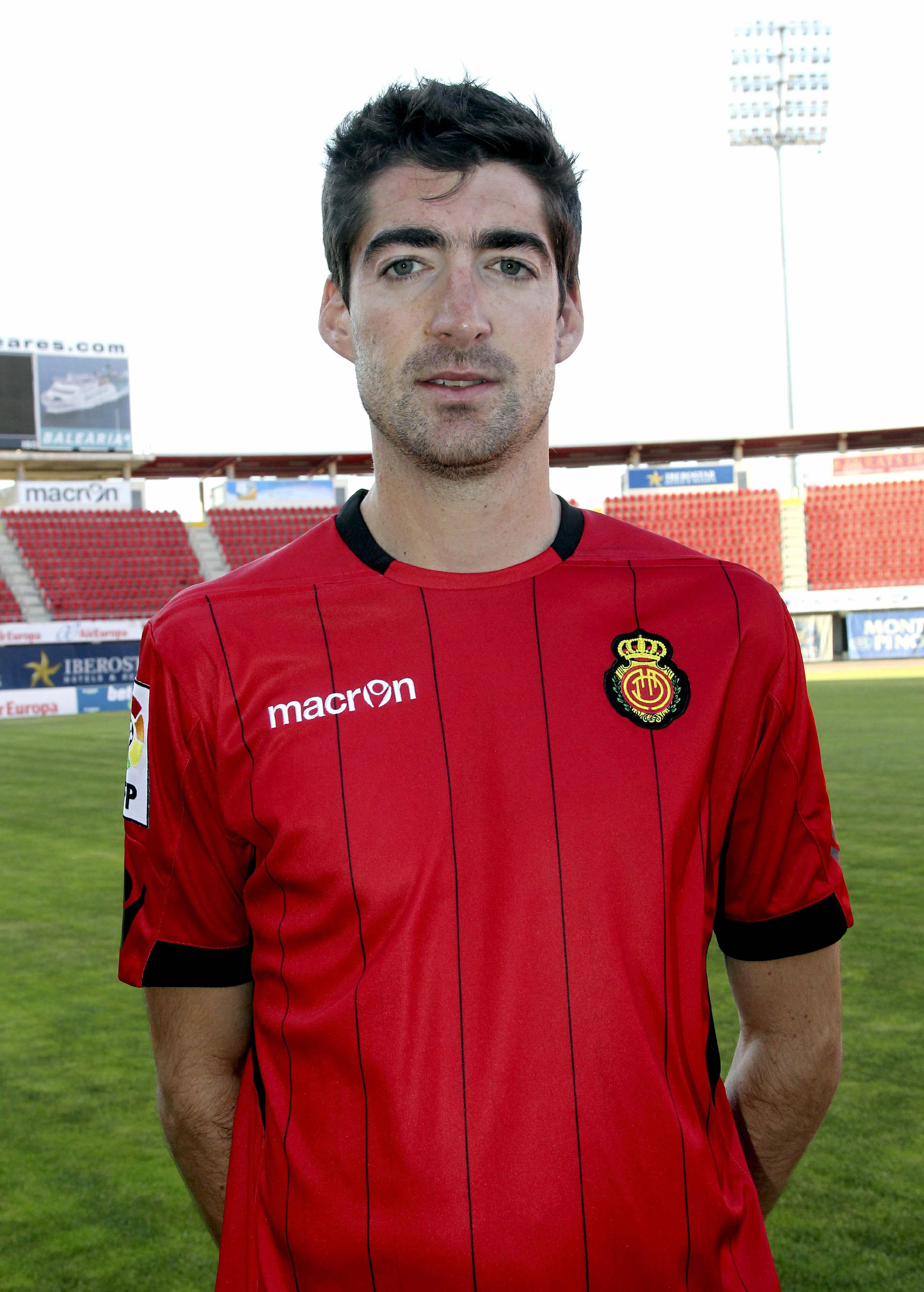 Arizmendi, el día de su presentación con el Mallorca, en julio de 2012 (Archivo 20minutos).