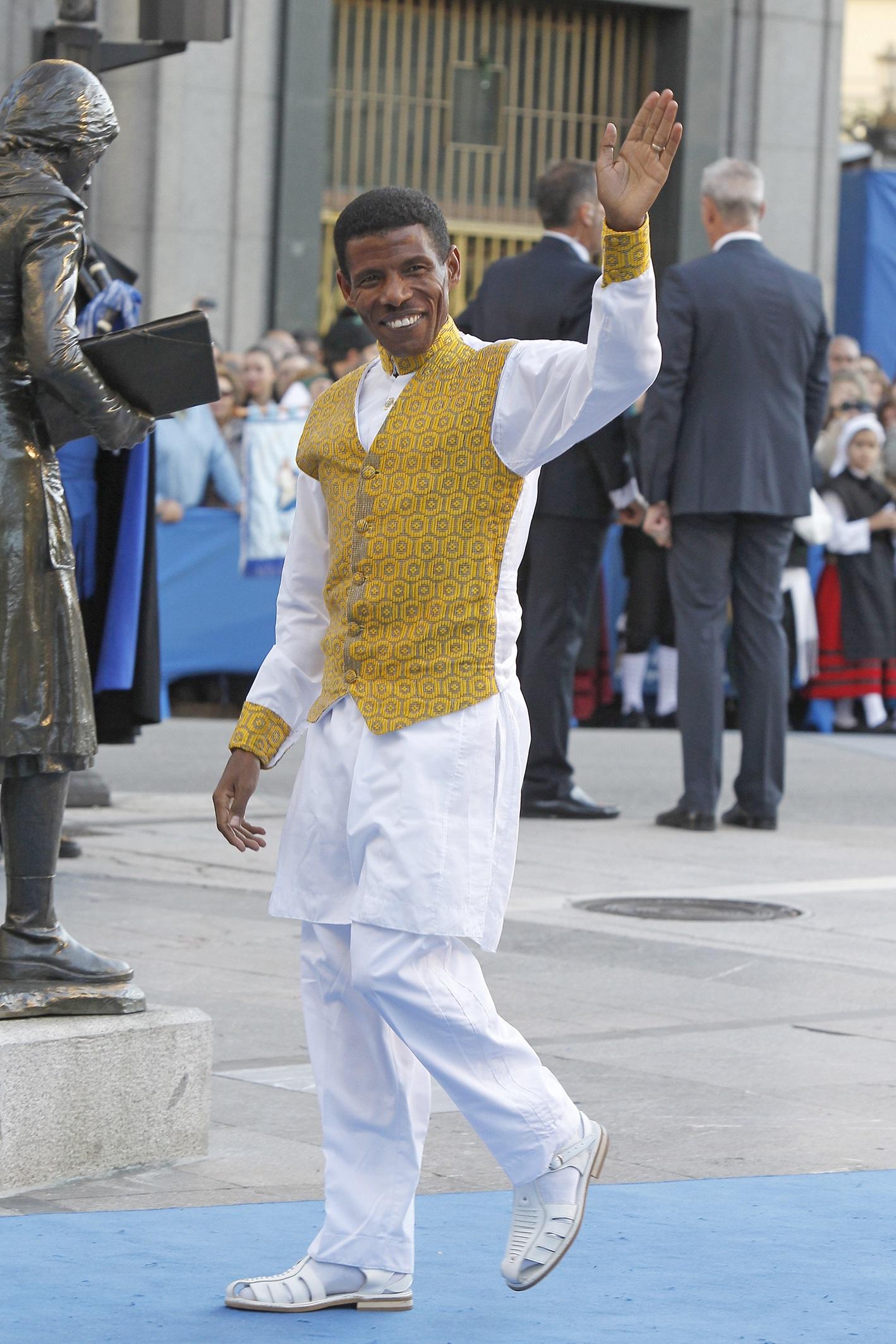 Gebrselassie, en los Príncipe de Asturias de 2011 (GTRES).