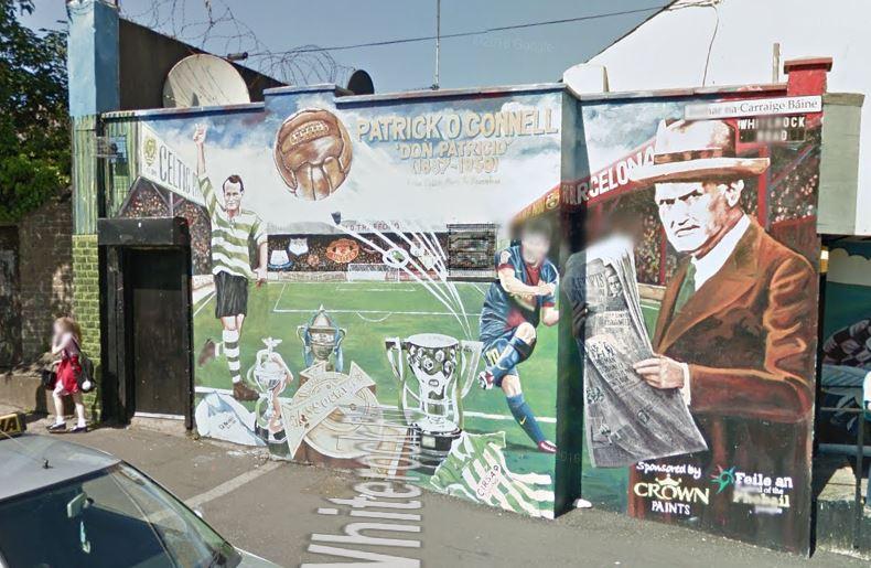 Fc barcelona qu fue de for Club joven mural