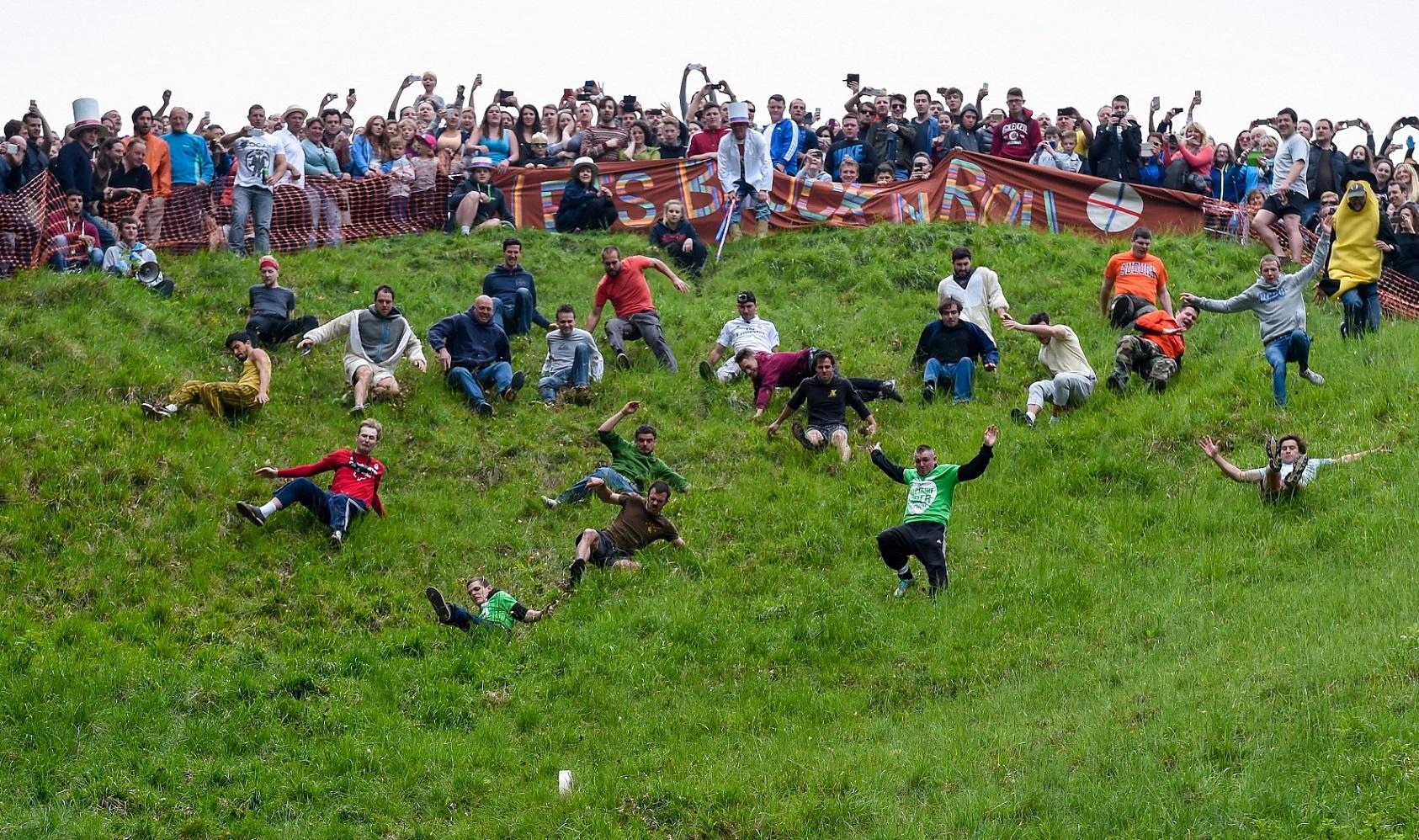 Santuarios del deporte. Cooper's Hill: el escenario del Festival ...