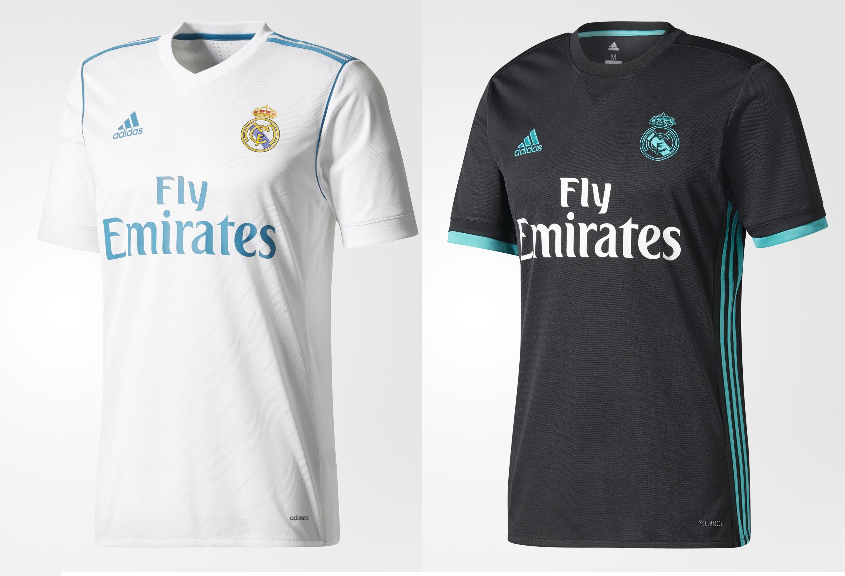 Camisetas del Real Madrid de la temporada 2017 2018 (ADIDAS). a5522bee3c6bf
