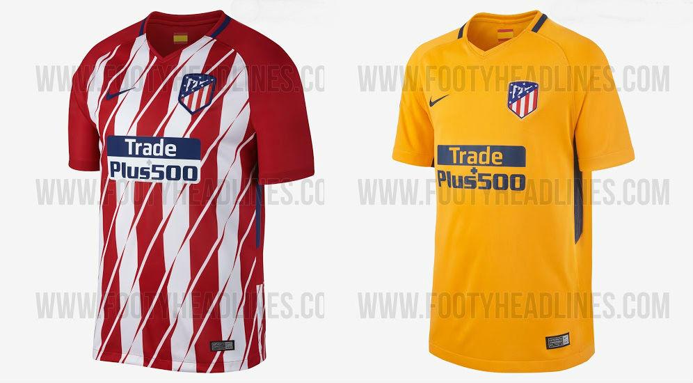 Equipaciones filtradas del Atlético de Madrid (FootyHeadlines). e7d8ab2869d