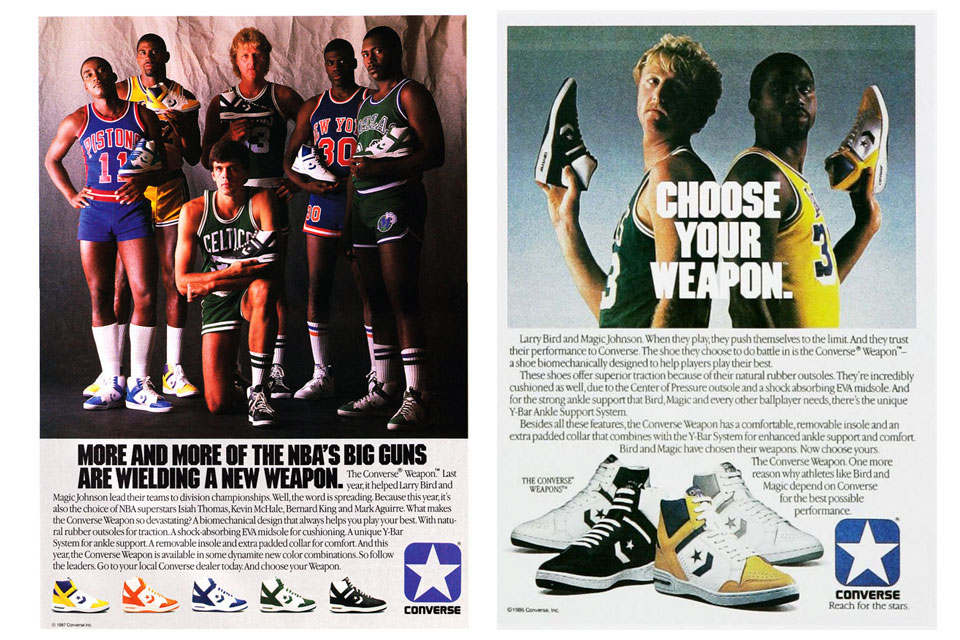 converse lakers 1986