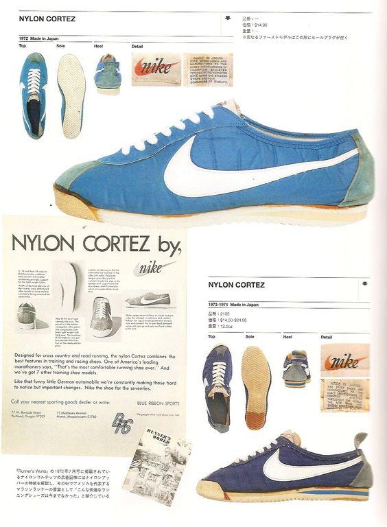 Zapatillas legendarias. Nike Cortez  el primer zapato de atletismo ... b7c1b0d4da3b4