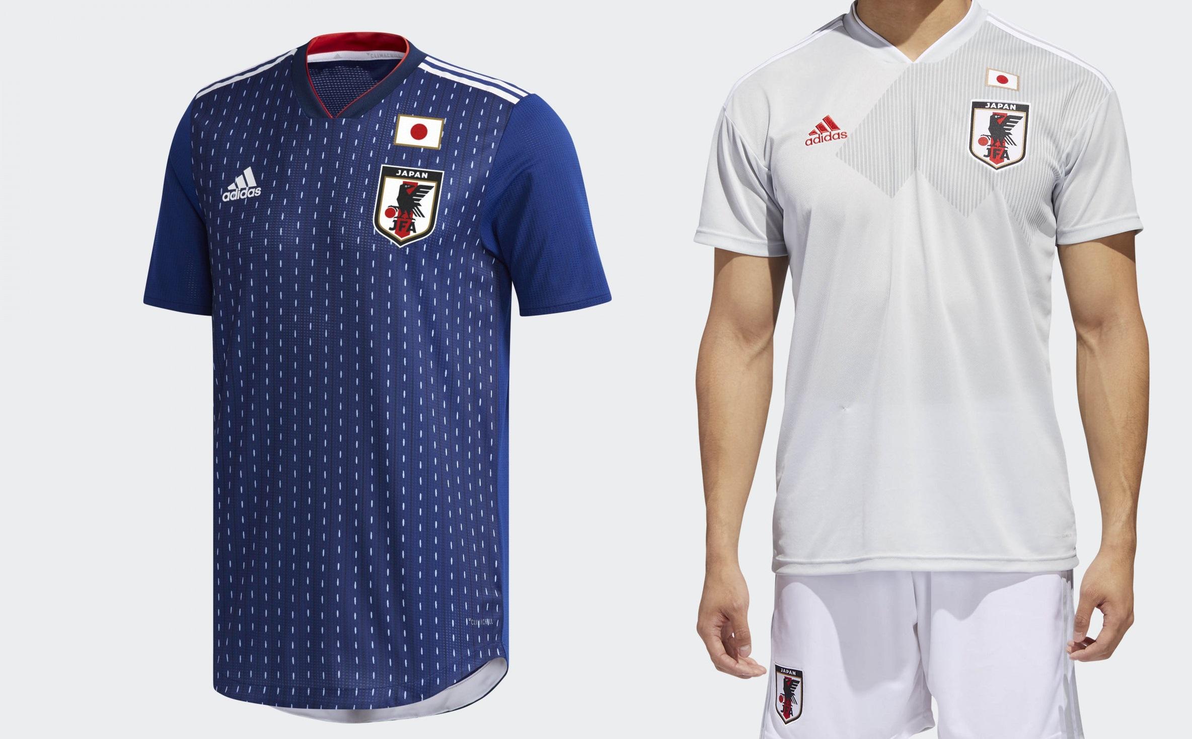 d66829c58f623 Camisetas de Japón para Rusia (ADIDAS).