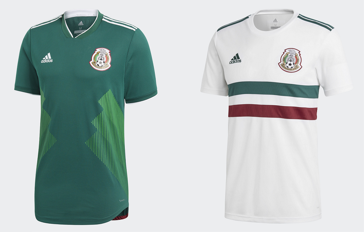 Camisetas de México (ADIDAS). 3eb2bf86c58