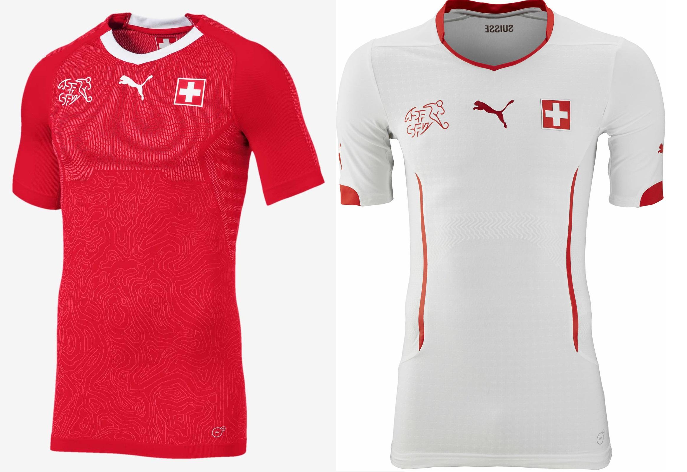 c1b1f3557f067 Camisetas de Suiza (PUMA).