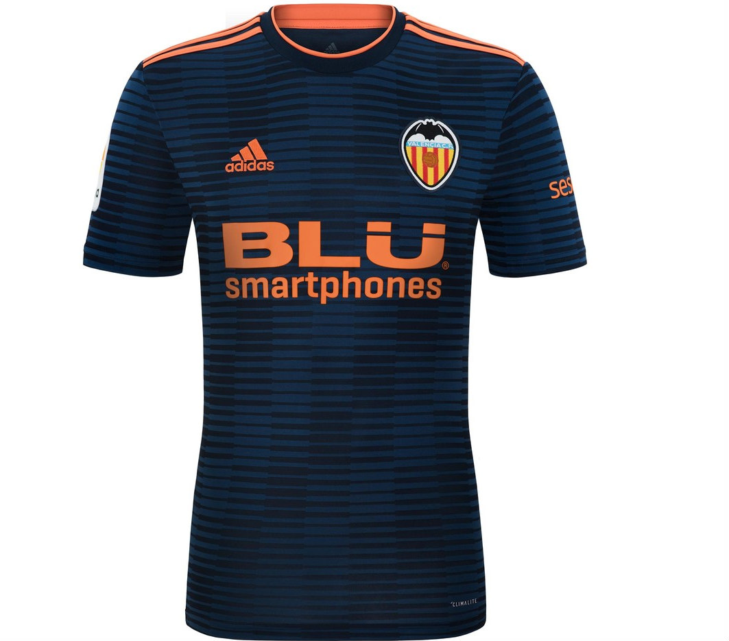 Segunda equipación del Valencia (ADIDAS). beb44968da2