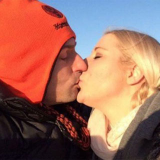 Un beso de amor.