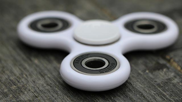 Un modelo de spinner