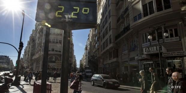 termómetro-Valencia-calor
