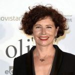 """La directora Icíar Bollaín durante el estreno de la película """" El Olivo """" en Madrid."""