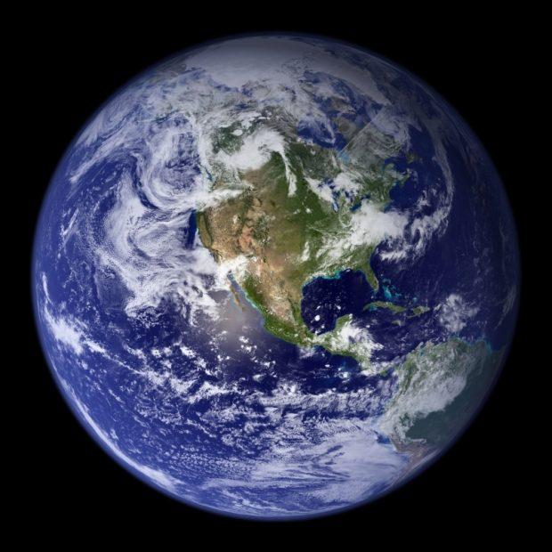 La Tierra vista desde el espacio © NASA