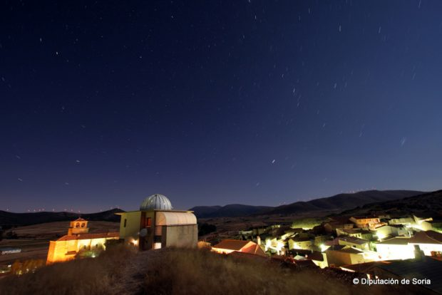 Observatorio astronómico de Borobia.