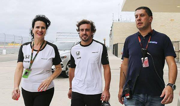 Alonso, en el circuito de Austin (Foto: Efe).