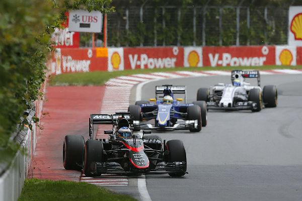 Fernando Alonso, en el GP de Canadá (Foto: Efe).