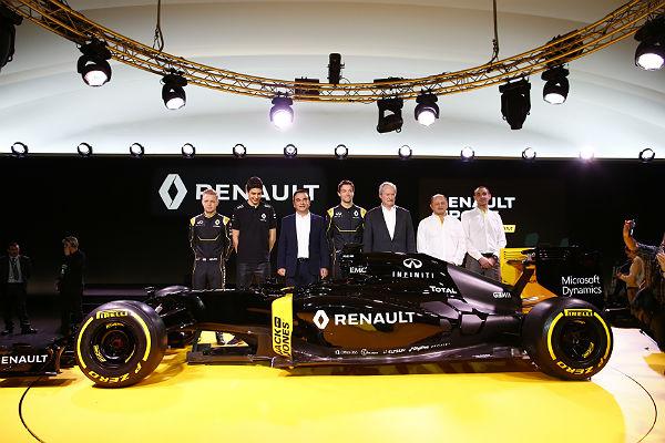 Presentación del Renault RS16 (Foto: Renault).