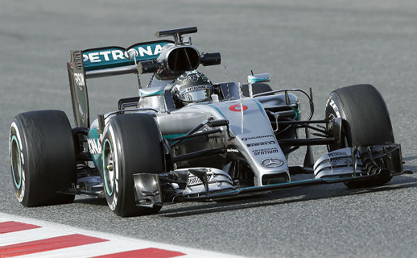 Mercedes (Foto: Efe).