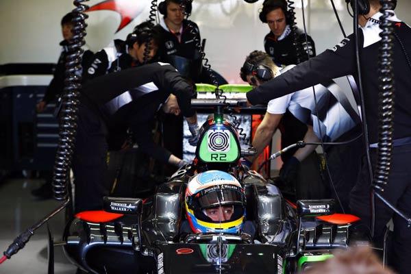 Box del equipo McLaren (Foto: McLaren).