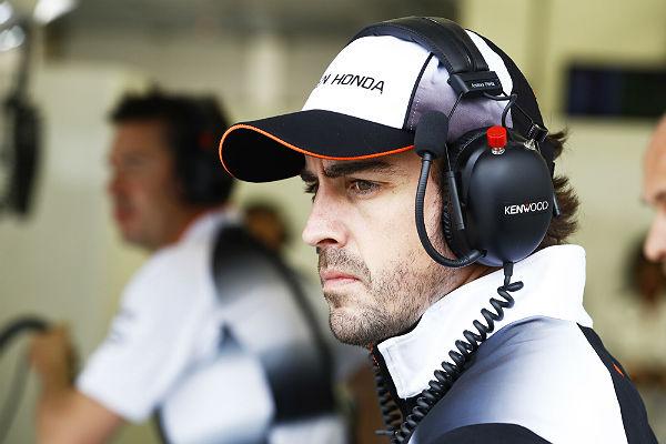 Fernando Alonso, en Bahréin (Foto: McLaren).