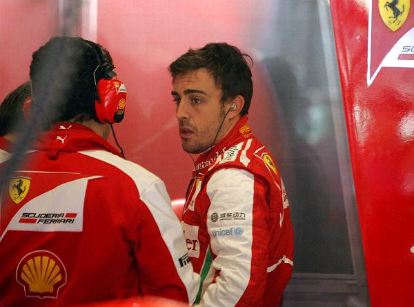 Alonso, en su etapa en Ferrari (Foto: Archivo).