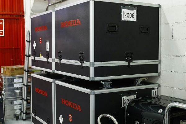 Motores Honda empaquetados (Foto: Honda).