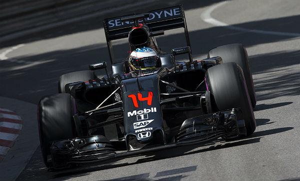 Fernando Alonso, en Mónaco (Foto: Efe).