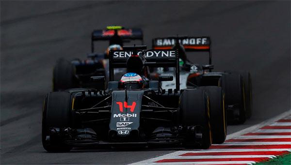 Fernando Alonso, al volante del McLaren (Foto: McLaren).