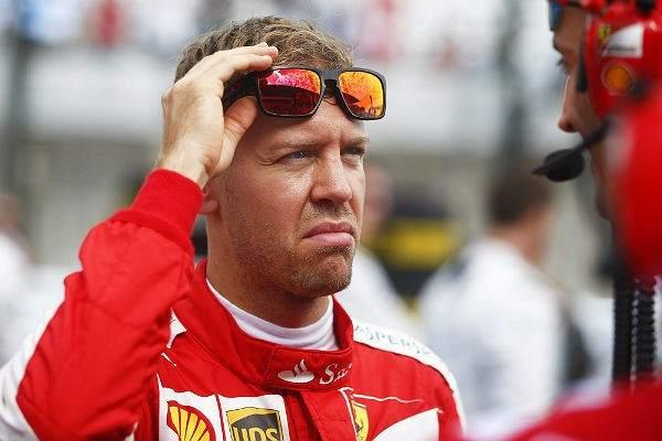 Sebastian Vettel, todavía de rojo (Foto: Efe).