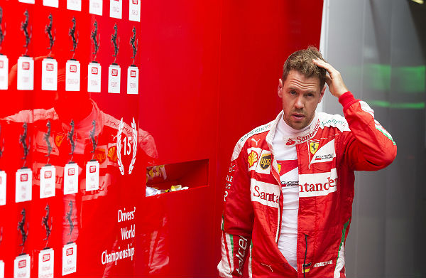 Resultado de imagen de Sebastian Vettel Marchione enfadados