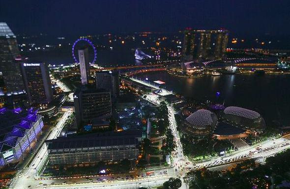 Circuito de Singapur (Foto: Efe).