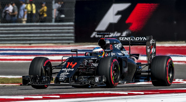 Fernando Alonso, en Austin (Foto: Efe).