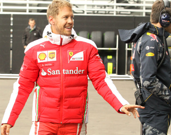 Sebastian Vettel, en el GP de México (Foto: Efe).