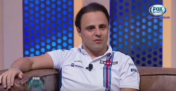 Felipe Massa, en el programa Fox Nitro.