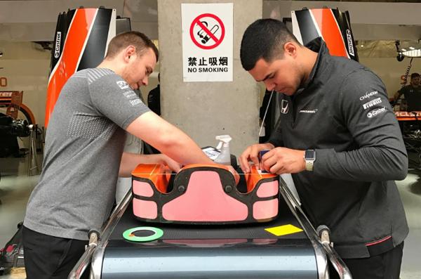 McLaren toma medidas contra la recta de Shanghái