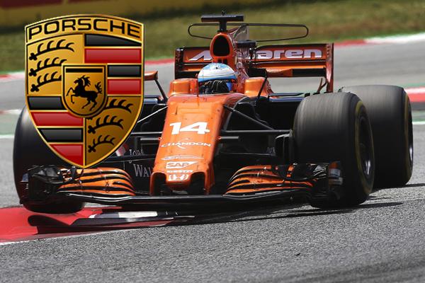 McLaren negocia una alianza con Porsche que retendría a Alonso