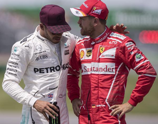 Desde aquí huelo la caca de Hamilton y Vettel
