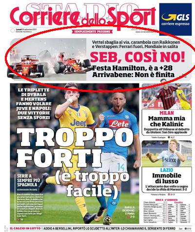 """""""¡Vettel, así no!"""", la dura portada que Alonso nunca vio estando en Ferrari"""