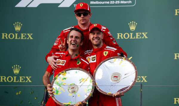 LA TÁCTICA QUE NUNCA FUE .     Ferrari
