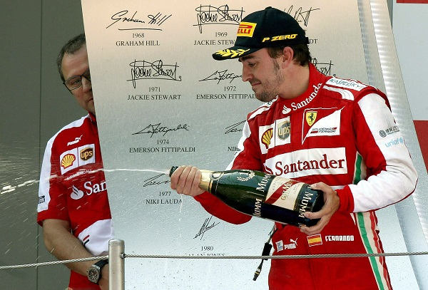 El presidente de Ferrari no descarta el próximo fichaje de Domenicali, padrino de Fernando Alonso en Maranello