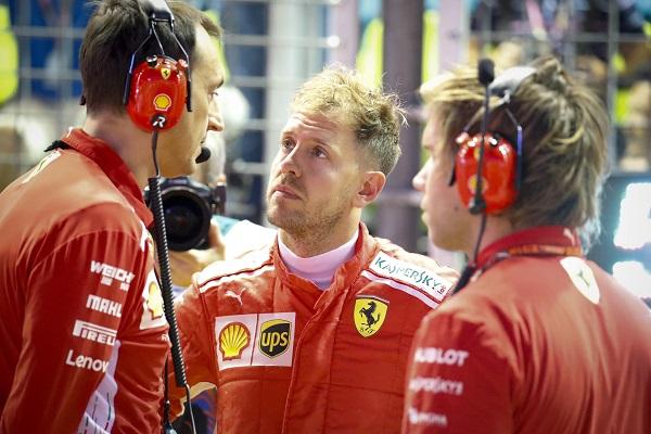 Si Vettel falla este año, Ferrari romperá su contrato a final de temporada