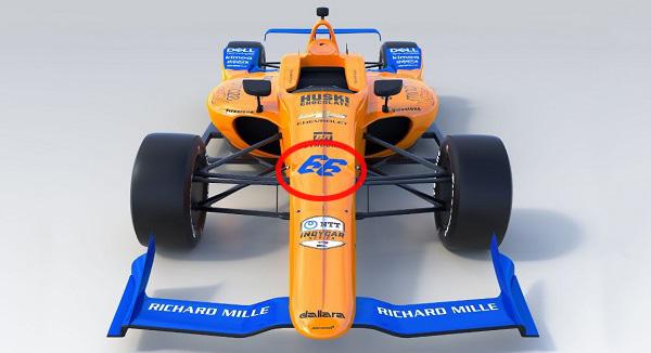 """¿Por qué Alonso ha elegido el número 66 para correr en Indianápolis"""""""